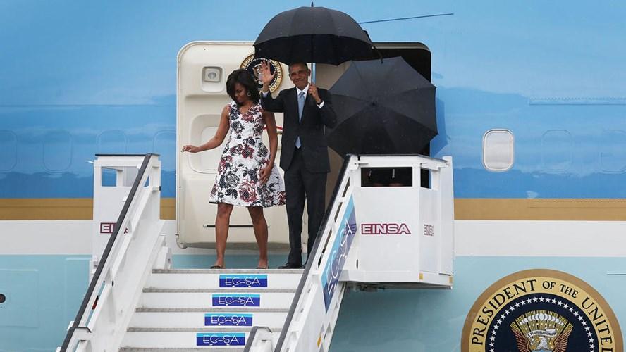 Hình ảnh ấn tượng về chuyến thăm Cuba của Tổng thống Mỹ - Ảnh 1
