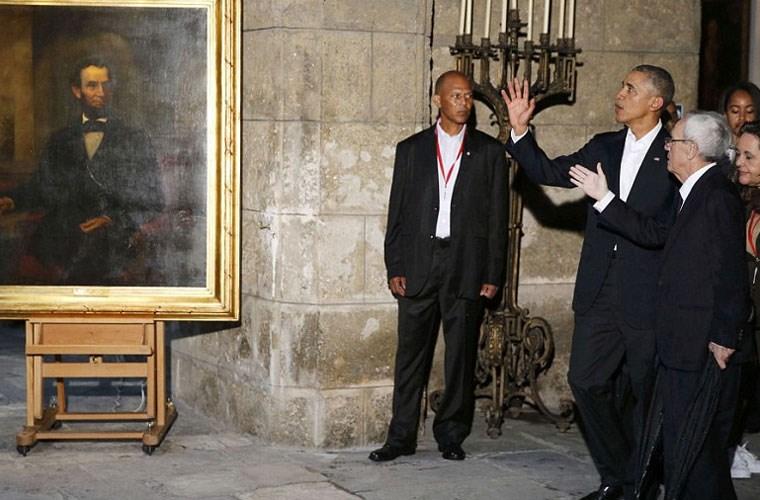 Hình ảnh ấn tượng về chuyến thăm Cuba của Tổng thống Mỹ - Ảnh 10