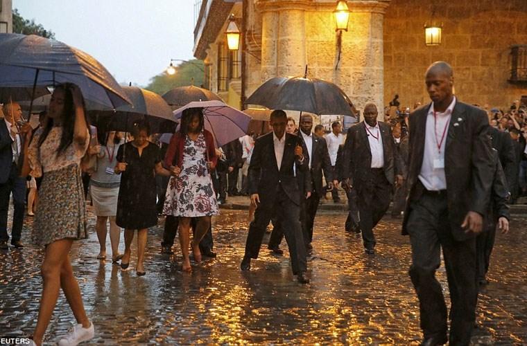 Hình ảnh ấn tượng về chuyến thăm Cuba của Tổng thống Mỹ - Ảnh 11