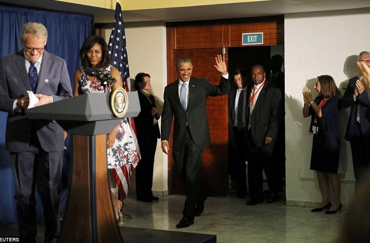 Hình ảnh ấn tượng về chuyến thăm Cuba của Tổng thống Mỹ - Ảnh 13