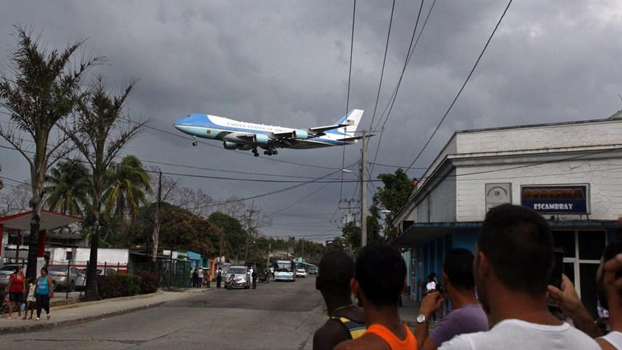 Hình ảnh ấn tượng về chuyến thăm Cuba của Tổng thống Mỹ - Ảnh 3