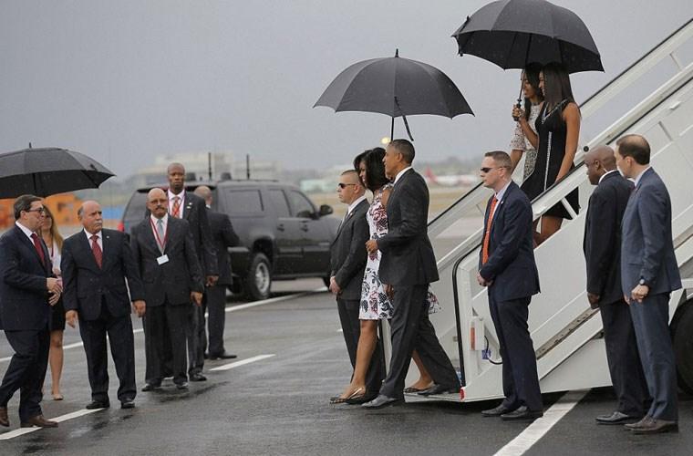 Hình ảnh ấn tượng về chuyến thăm Cuba của Tổng thống Mỹ - Ảnh 4