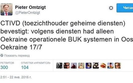 Hà Lan lộ kết luận chính Ukraine đã bắn rơi máy bay MH17  - Ảnh 1