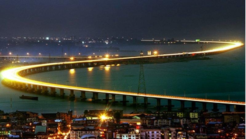 Chiêm ngưỡng 10 cây cầu dài nhất thế giới - Ảnh 10