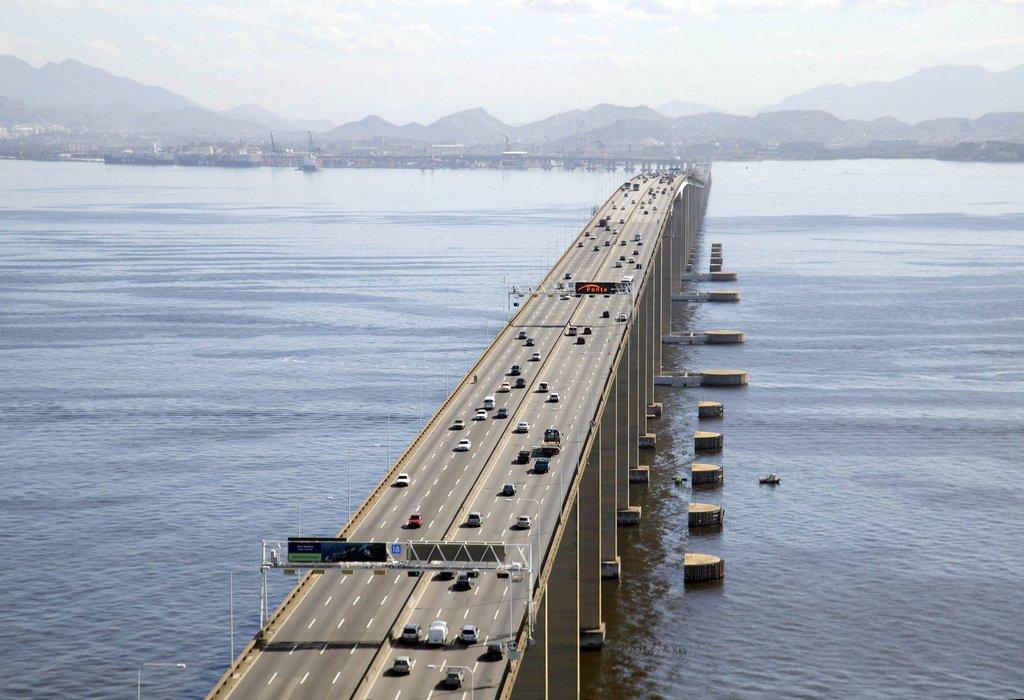 Chiêm ngưỡng 10 cây cầu dài nhất thế giới - Ảnh 8