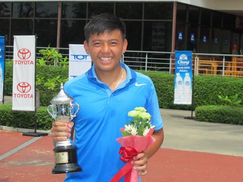 Lý Hoàng Nam vô địch giải quần vợt ITF Thái Lan - Ảnh 1