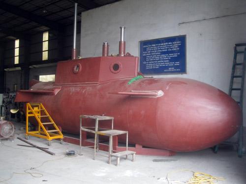 Khám phá tàu ngầm tự chế Trường Sa 1 đầu tiên của người Việt Nam - Ảnh 1