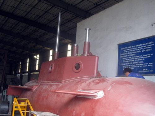 Khám phá tàu ngầm tự chế Trường Sa 1 đầu tiên của người Việt Nam - Ảnh 6