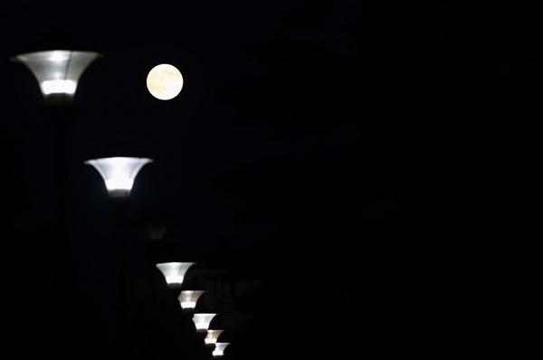 """Ngỡ ngàng với vẻ đẹp của """"siêu trăng"""" đêm 12/7 - Ảnh 7"""