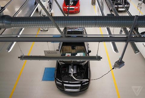 Khám phá nhà máy sản xuất của Rolls-Royce - Ảnh 18