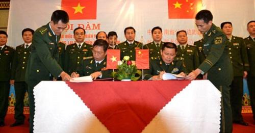 Ký kết phối hợp biên phòng 4 tỉnh phía bắc với tỉnh Vân Nam (TQ) - Ảnh 1