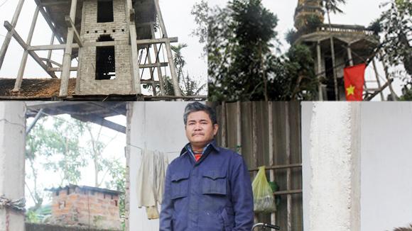 Ông già đồng nát 35 năm mót đá xây nhà 5 tỷ - Ảnh 3