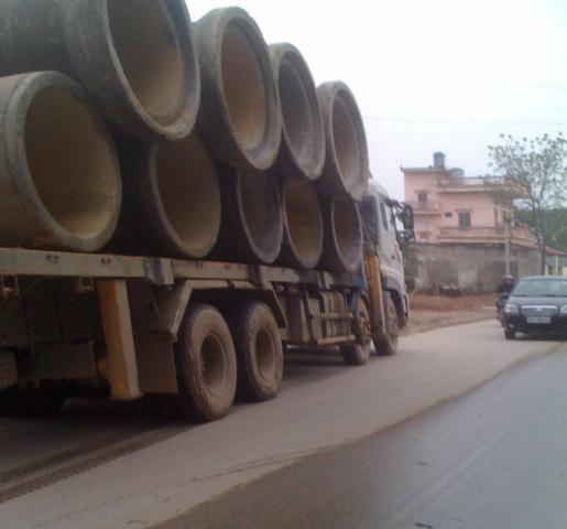 """Thành phố Thanh Hóa """"bất lực"""" trước thực trạng xe chở quá tải. - Ảnh 7"""