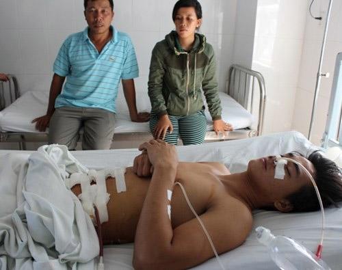 Cảnh sát hình sự bắn trọng thương một thanh niên - Ảnh 1