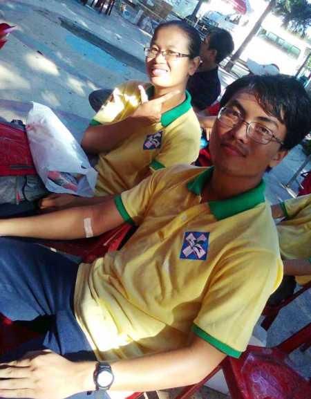 Chàng sinh viên 9X tình nguyện dạy học cho trẻ khiếm thị - Ảnh 3