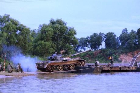Quân đoàn 1 thực hành vượt sông sát thực tế chiến đấu - Ảnh 3