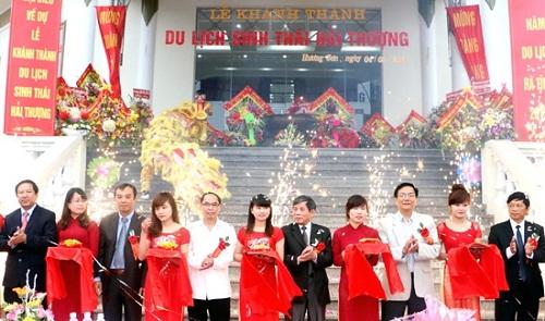 Long trọng lễ khánh thành khu du lịch sinh thái Hải Thượng - Ảnh 1