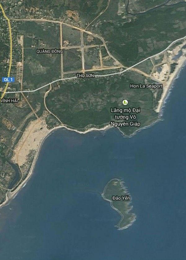 Vị trí mộ Đại tướng Võ Nguyên Giáp được Google Maps cập nhật - Ảnh 1