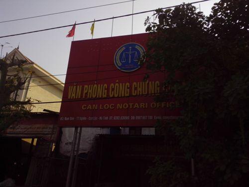 Hà Tĩnh: Bắt cán bộ phòng công chứng lừa đảo - Ảnh 2