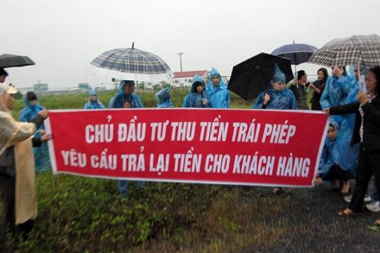 Dự án Tiền Phong (Mê Linh): Tìm công lý trên công trường tan hoang - Ảnh 1
