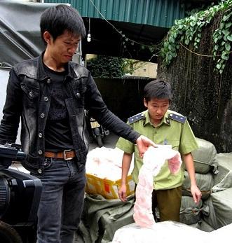 Nội tạng bẩn Trung Quốc được tuồn về Hà Nội - Ảnh 2