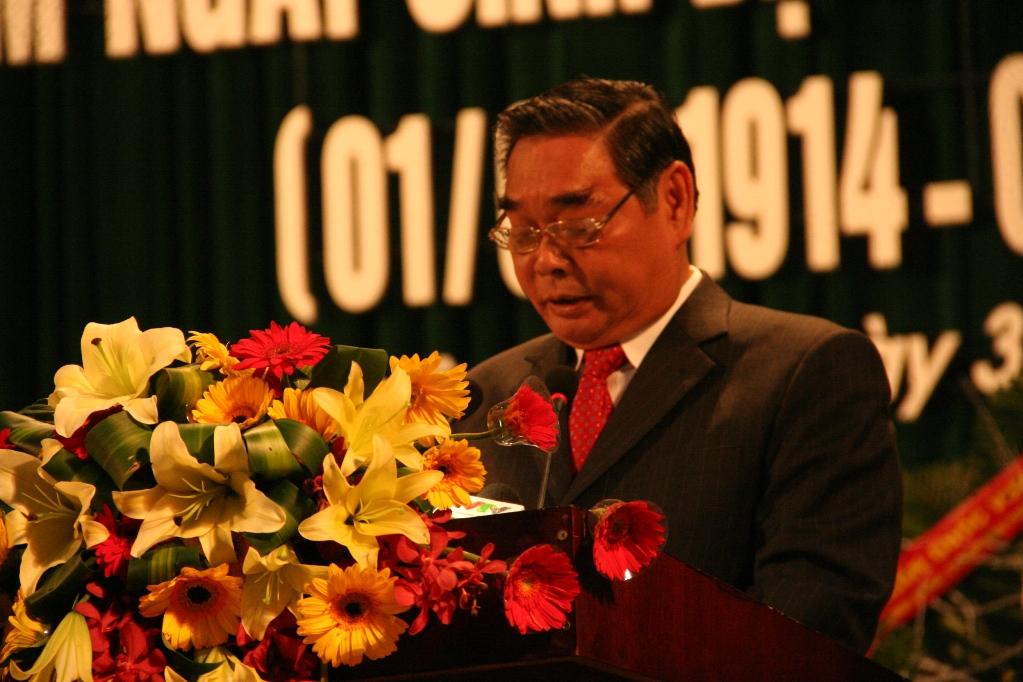 Lễ kỷ niệm 100 năm ngày sinh Đại tướng Nguyễn Chí Thanh - Ảnh 1