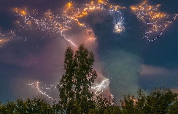 """Cảnh tượng ngoạn mục """"ngoài hành tinh"""" khi núi lửa phun trào - Ảnh 5"""