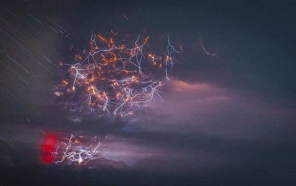 """Cảnh tượng ngoạn mục """"ngoài hành tinh"""" khi núi lửa phun trào - Ảnh 7"""