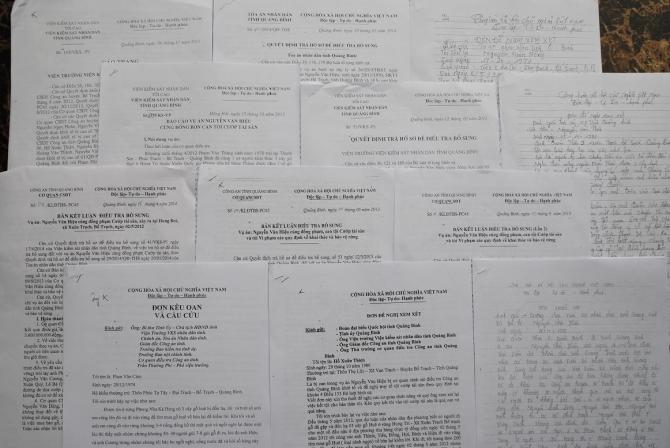 """Tiếp tục trả hồ sơ vụ án """"cướp gỗ huê"""" chấn động Quảng Bình - Ảnh 1"""