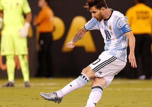 Pha chạm bóng cuối cùng của Messi cho ĐT Argentina - Ảnh 1