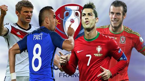 Lịch thi đấu bán kết EURO 2016 - Ảnh 1