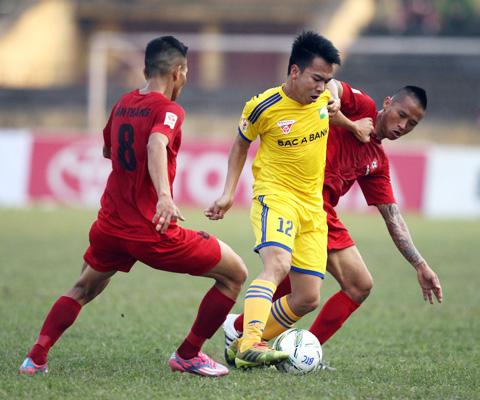 Xem trực tiếp Hà Nội T&T vs Sông Lam Nghệ An 18h00 - Ảnh 1