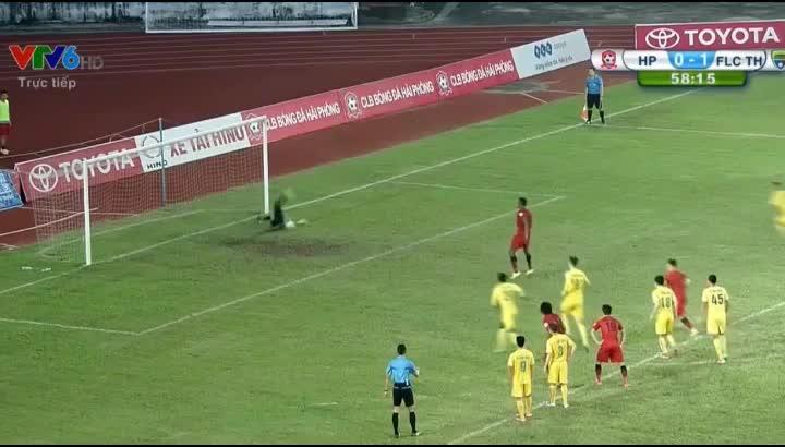 5 pha bỏ lỡ đáng tiếc nhất vòng 22 V.League 2016 - Ảnh 1