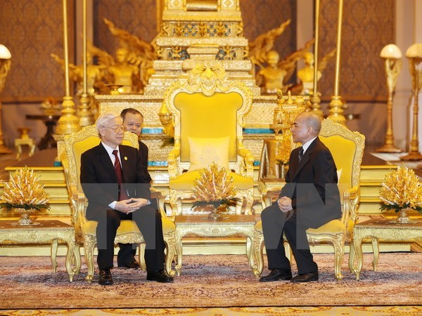 Báo Campuchia ca ngợi chuyến thăm của Tổng Bí thư Nguyễn Phú Trọng - Ảnh 1