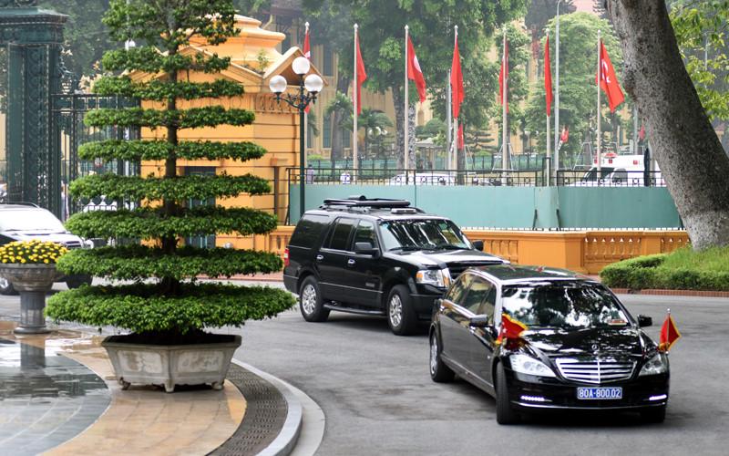 Hình ảnh lễ đón Thủ tướng Thổ Nhĩ Kỳ thăm chính thức Việt Nam - Ảnh 1