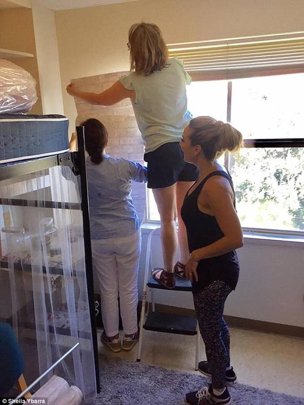 Phòng ký túc xá đơn giản, 2 nữ sinh biến nó thành thiên đường - Ảnh 8