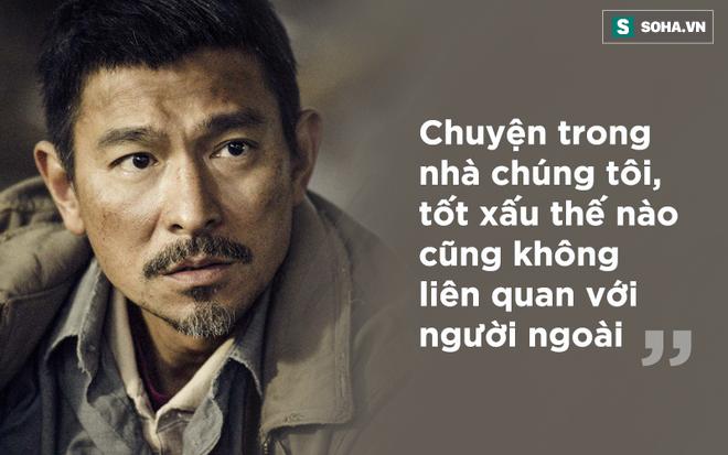 Bị chỉ trích vong ơn bội nghĩa, Lưu Đức Hoa nói một câu mà khiến nhiều người phải xấu hổ - Ảnh 2