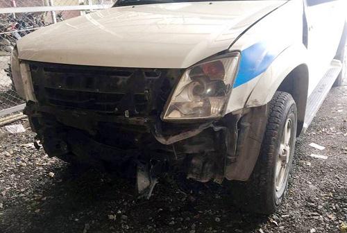 Quảng Ninh: Khởi tố tài xế ô tô điên tông xe CSGT để bỏ chạy