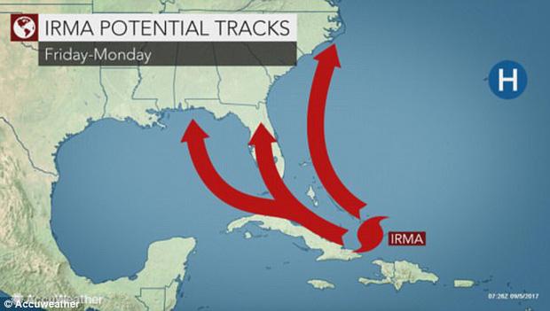 Siêu bão mạnh nhất trong 30 năm chuẩn bị đổ bộ Mỹ - Ảnh 2