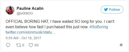 Trong vòng chưa đầy 24 giờ, Elon Musk đã giúp The Boring Company thu về hơn 80.000 USD nhờ... bán mũ - Ảnh 3