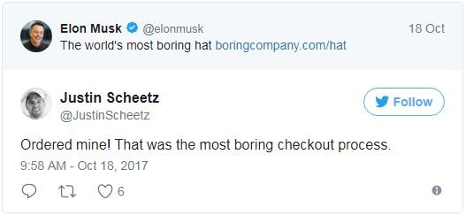 Trong vòng chưa đầy 24 giờ, Elon Musk đã giúp The Boring Company thu về hơn 80.000 USD nhờ... bán mũ - Ảnh 4