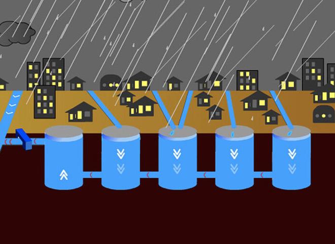 Cống ngầm lớn nhất thế giới 2,6 tỷ đô ở Nhật, siêu bão mưa 3 ngày liền cũng không ngập - Ảnh 2