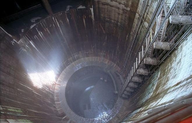 Cống ngầm lớn nhất thế giới 2,6 tỷ đô ở Nhật, siêu bão mưa 3 ngày liền cũng không ngập - Ảnh 8