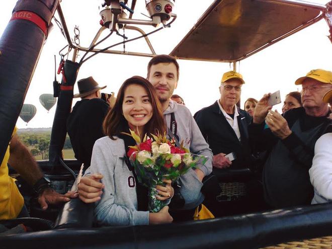 Chàng trai Pháp đưa bạn gái Việt sang Myanmar cầu hôn trên khinh khí cầu  - Ảnh 2
