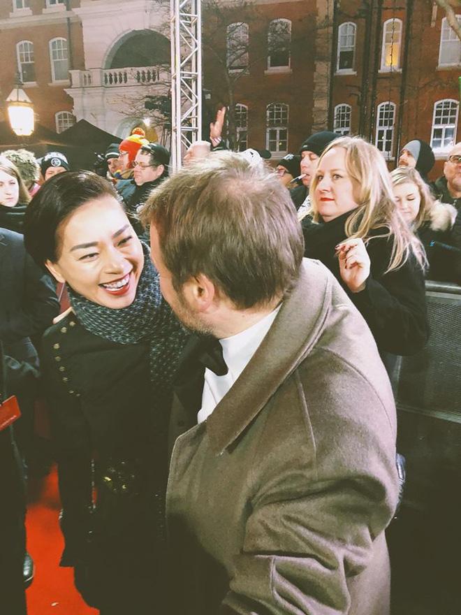 """Ngô Thanh Vân rạng rỡ tại buổi công chiếu """"Star Wars"""" ở London - Ảnh 3"""
