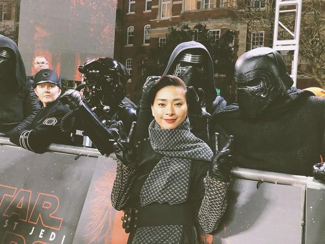 """Ngô Thanh Vân rạng rỡ tại buổi công chiếu """"Star Wars"""" ở London - Ảnh 5"""