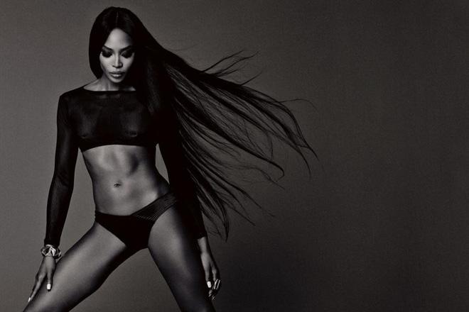 Siêu mẫu Naomi Campbell và bí quyết giữ dáng như gái dậy thì - Ảnh 3