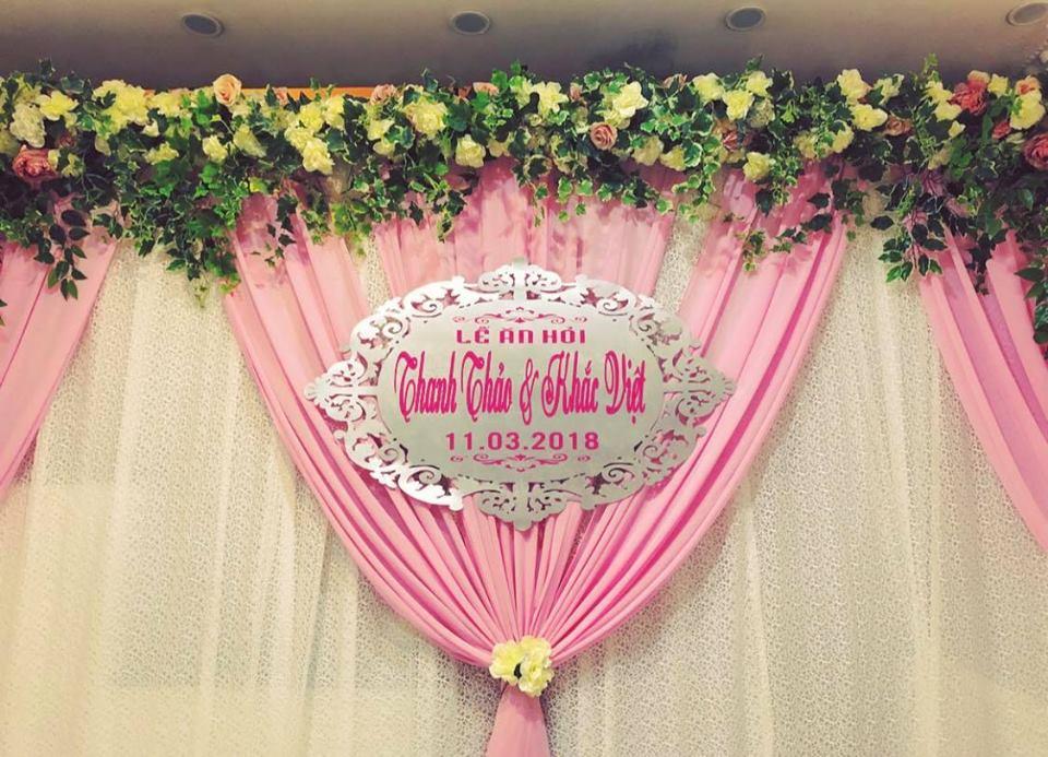 Khắc Việt và bạn gái xinh đẹp tổ chức lễ ăn hỏi - Ảnh 1