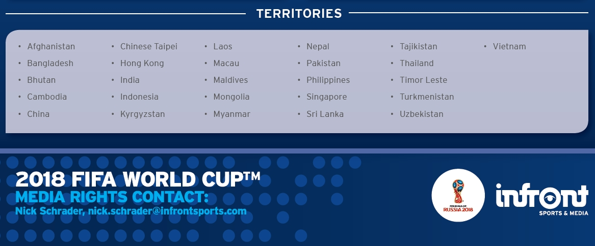 Thực hư thông tin Việt Nam có bản quyền World Cup 2018? - Ảnh 1