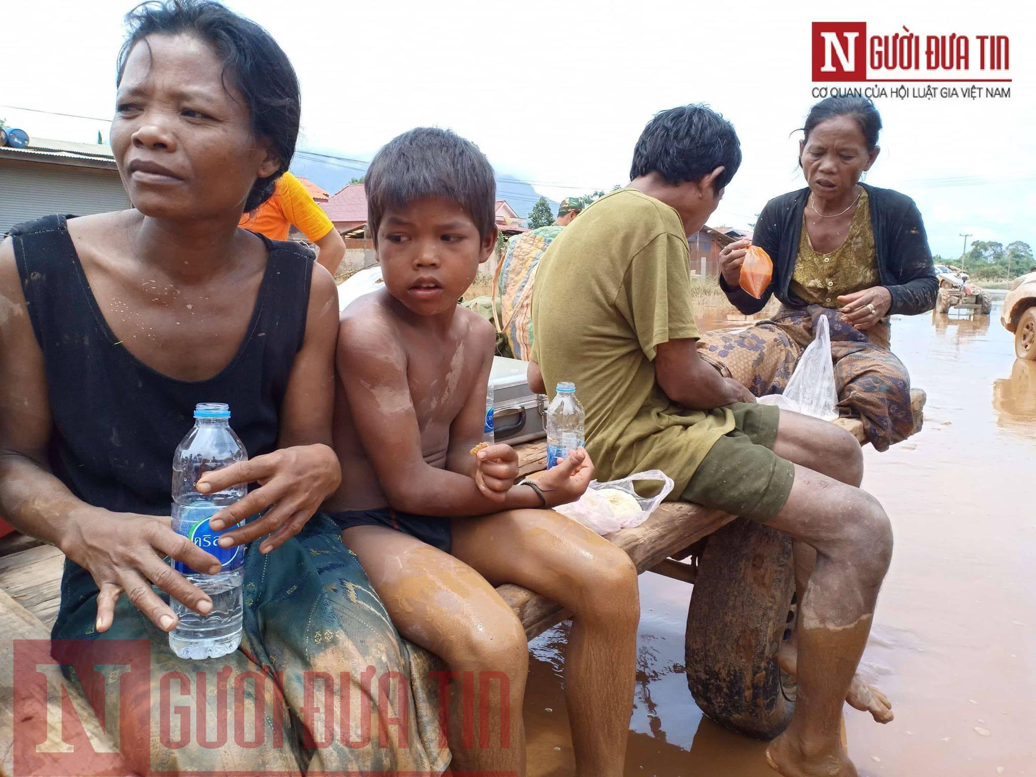 Vỡ đập thủy điện Lào: Cận cảnh công tác cứu hộ tại nơi cơn lũ vừa càn quét - Ảnh 3